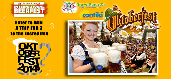 WIN a Trip for 2 to Oktoberfest 2014