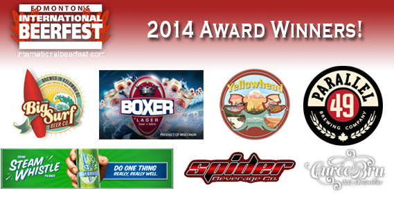 Check out BeerFest 2014's Award Winners!