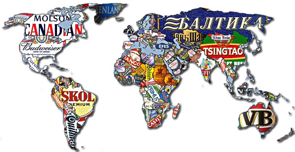 Which Are The Top Five Beer Making Countries?