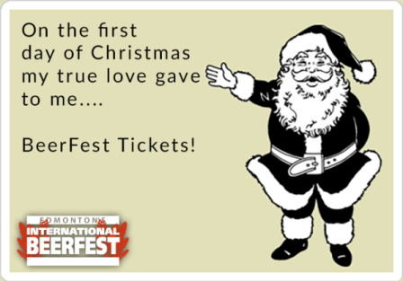 Edmonton BeerFest Tickets are now on Sale!