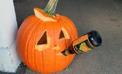 Beer and halloween awesome beer related pumpkin carving ideas