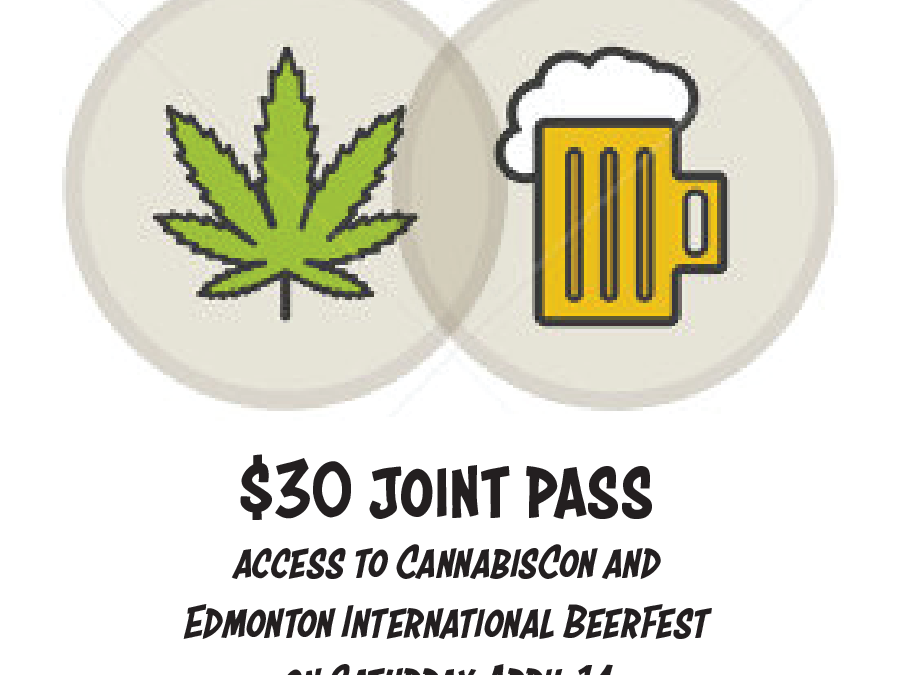 BeerFest & Cannabiscon Buds & Suds Package