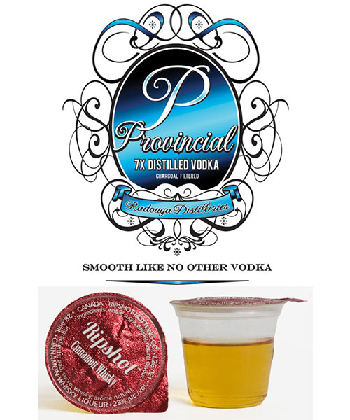 Provincial Vodka & Ripshot Shots